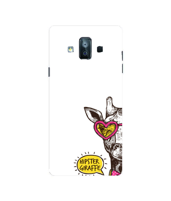 Samsung Galaxy J7 Duo Hipster Giraffe Mobile cover