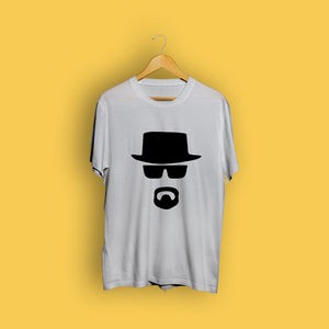 Funky Beard Grey Casual T-Shirt