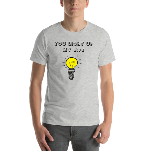 Grey Light Casual T shirt