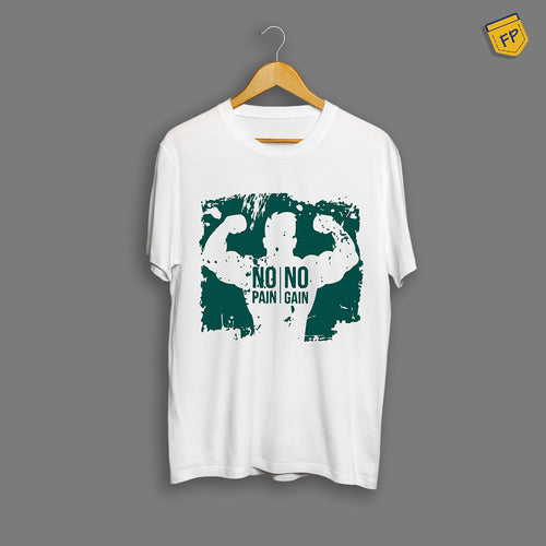 No Pain No Gain Gym T-Shirt