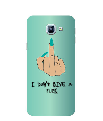 Samsung Galaxy A8 I Don't Give a fuck mobile cover