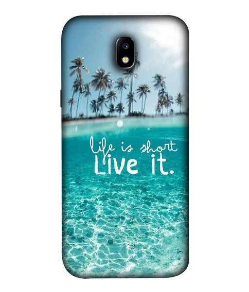 Samsung Galaxy J7 Pro Live Life Mobile cover