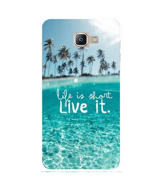 Samsung A9 Pro Life Live mobile cover