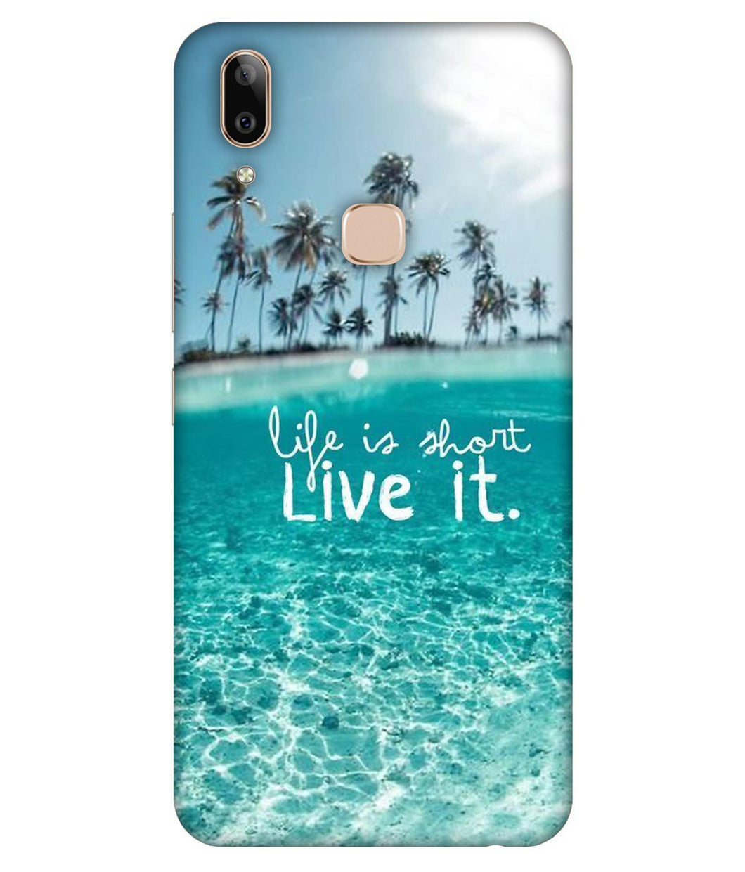 Vivo V9 Live Life mobile cover