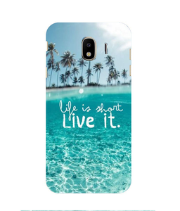 Samsung Galaxy J4 Live LIfe Mobile cover