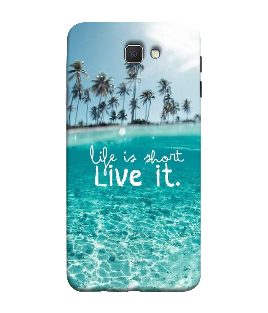 Samsung Galaxy J7 Prime Live Life Mobile cover
