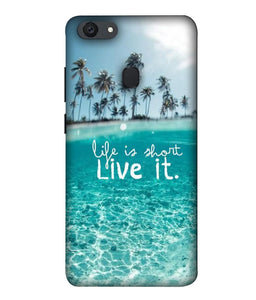 Oppo F5 Youth Live Life mobile cover