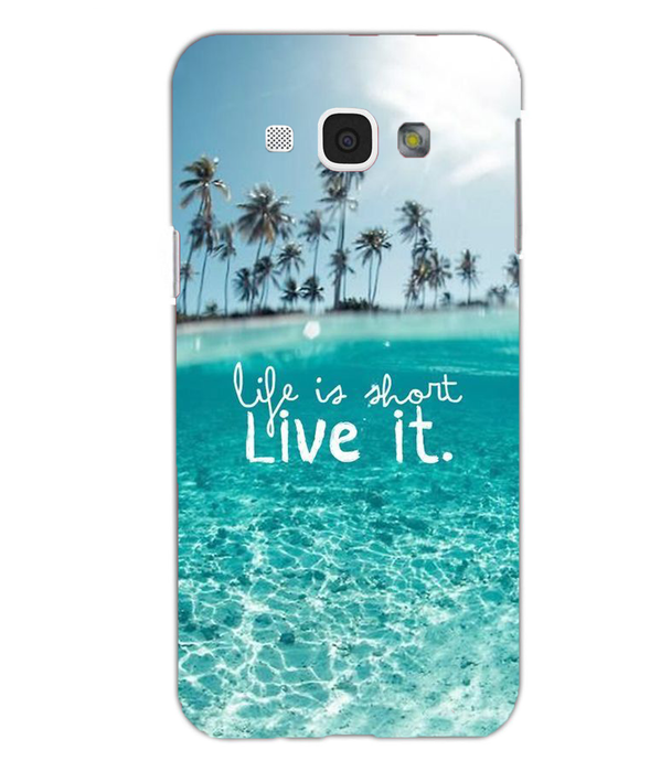 Samsung Galaxy A8 Live Life mobile cover