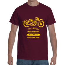 Load image into Gallery viewer, Maroon Motor  T- Shirt