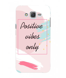 Samsung Galaxy J7 Nxt Positive Vibes Mobile Cover
