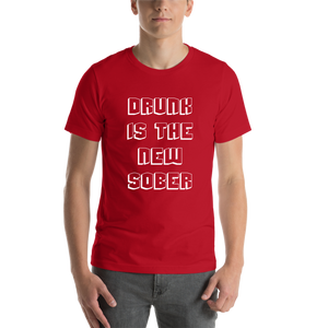 Red Drunk Casual T-shirt
