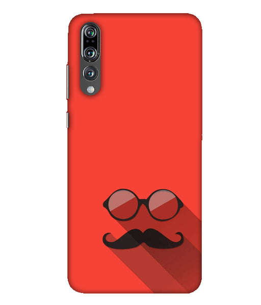 Huawei P20 Pro red beard with sunglasses mobile cover