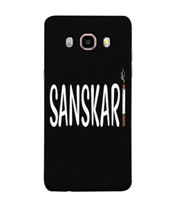 Samsung Galaxy J7-2016 Sanskari Mobile cover