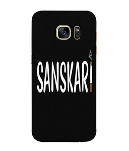 Samsung Galaxy S7 Sanskari Mobile cover