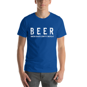 Blue Beer Casual T-Shirt