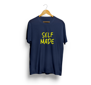 Self Made Navy Blue T-Shirt