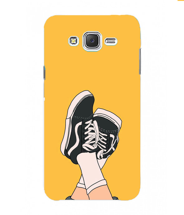 Samsung Galaxy J7 Nxt Shoes Mobile Cover