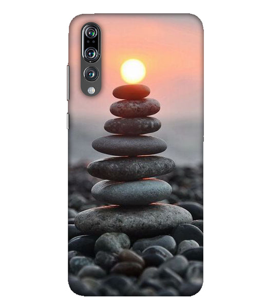 Huawei P20 Pro sun set mobile cover