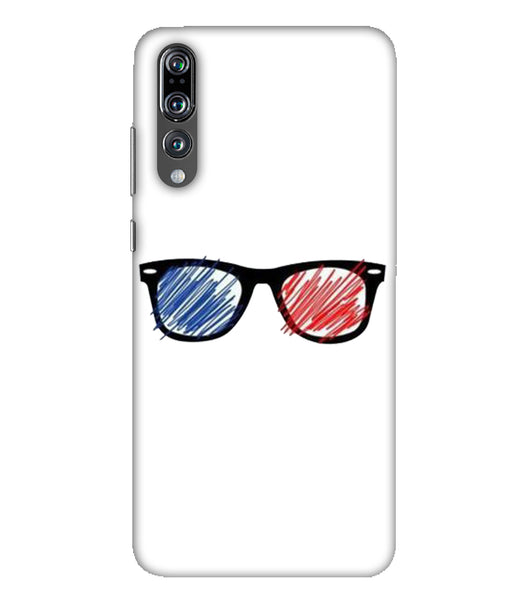 Huawei P20 Pro sunglasses mobile cover