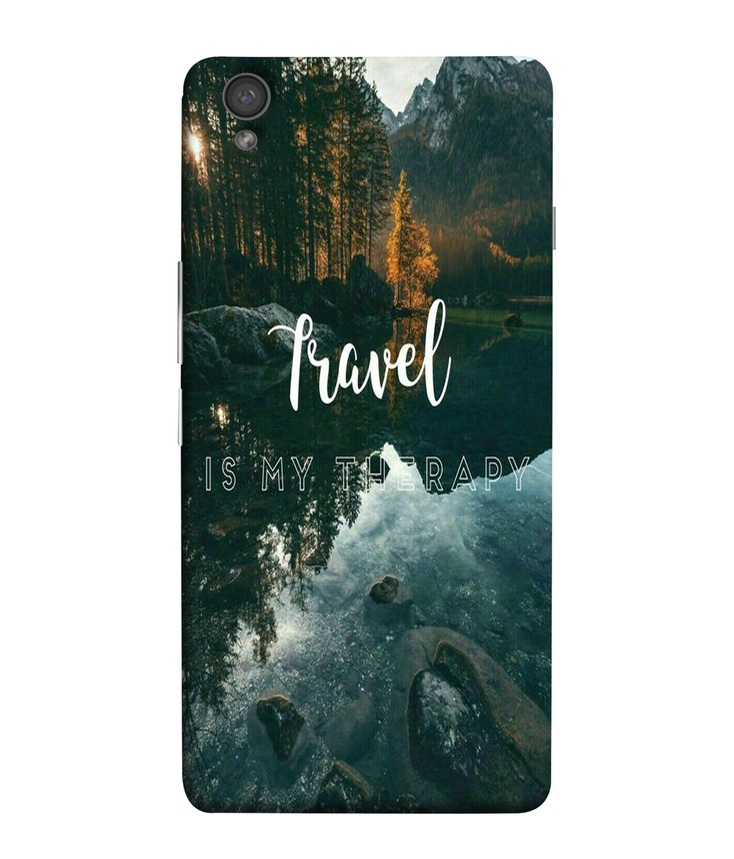 One Plus X Travel Mobile cover