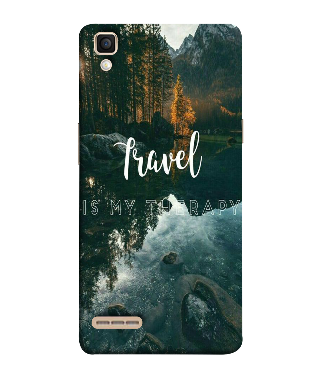 Oppo F1 Travel mobile cover