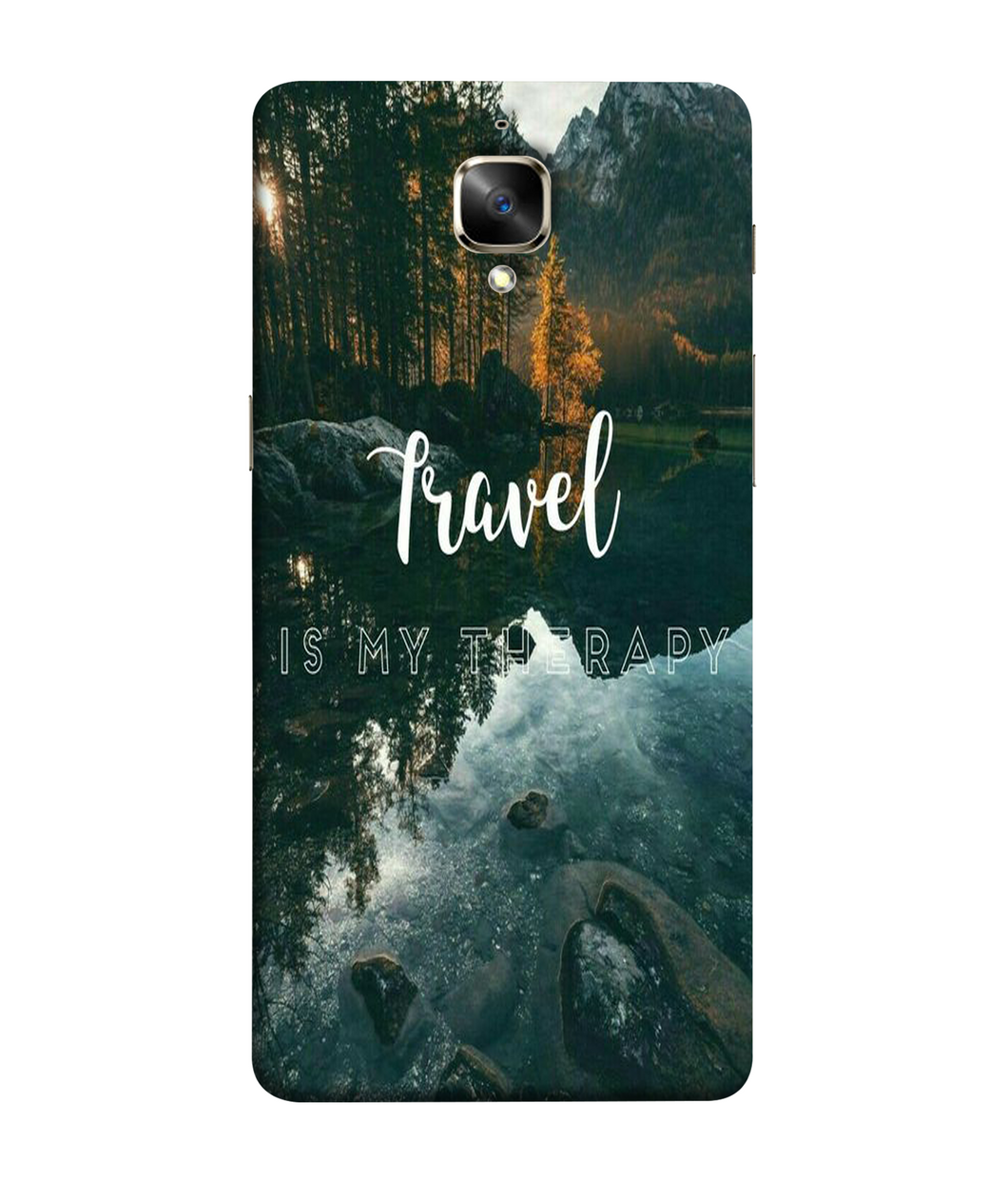 One plus 3t Travel Mobile cover