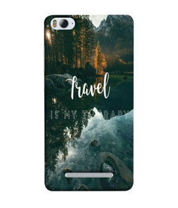 Xiaomi MI4I Travel mobile cover