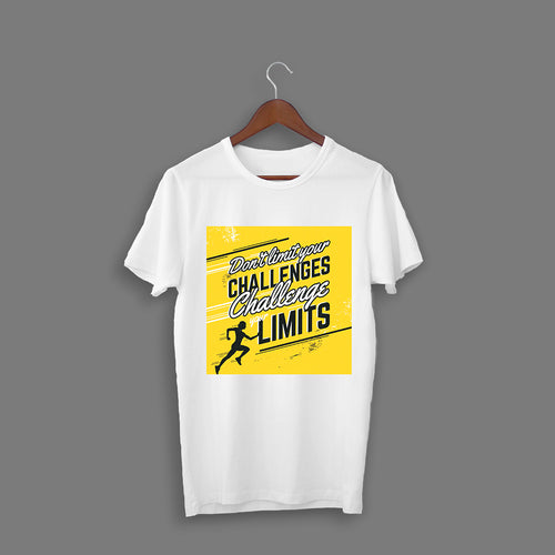 Challenge Your Limits White T-Shirt