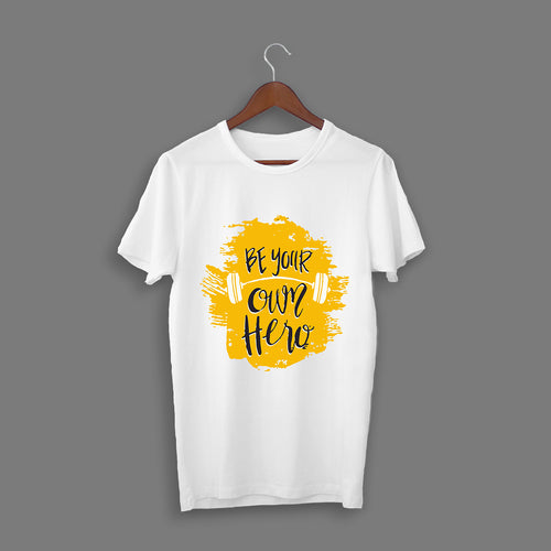 Be Your Hero White T-Shirt