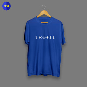 Travel Royal Blue T-Shirt
