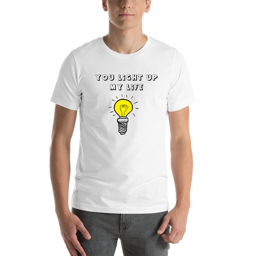 White Light Casual T shirt