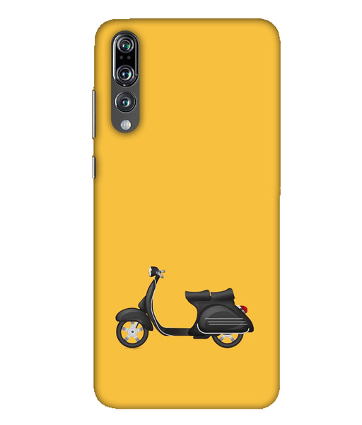 Huawei P20 Pro yellow vespa mobile cover