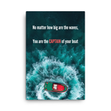 You are the captain of your boat - Success Abundance