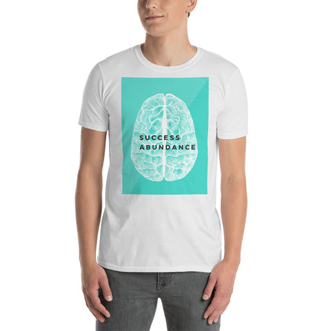 Success Abundance Short-Sleeve Unisex T-Shirt-Success Abundance Canvas