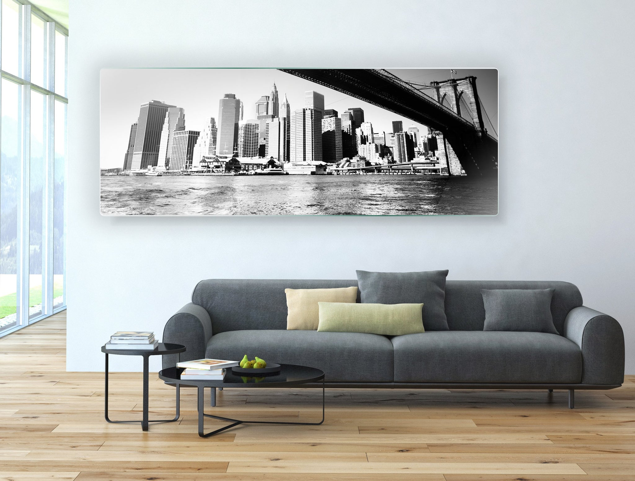 Art stenska slika BROOKLYN MOST - AP016 - Life-decor.si