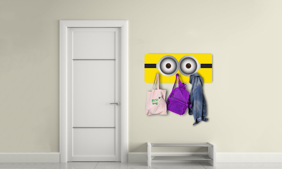 Art stenski obešalnik MINION - AV035 - Life-decor.si