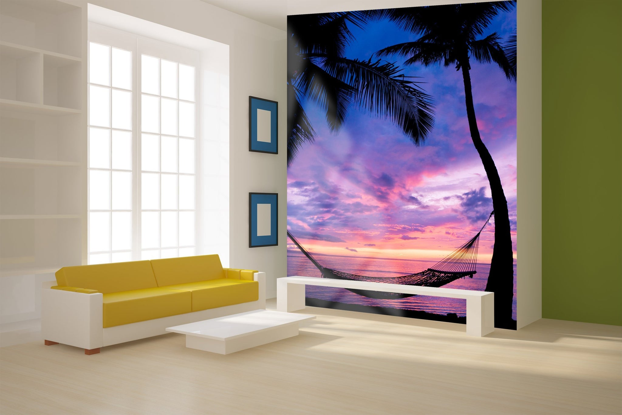 Samolepilne stenske tapete   Beautiful Vacation Sunset SW210