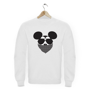 Sweat col rond Mickey Gangsta Chanel Berysquad