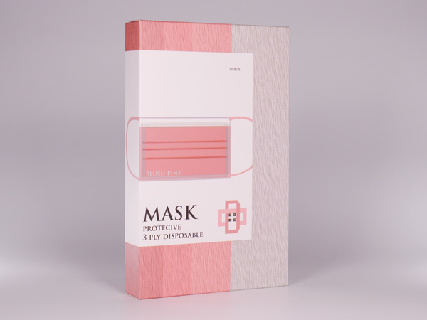 The Mega Color Blush Pink Masks