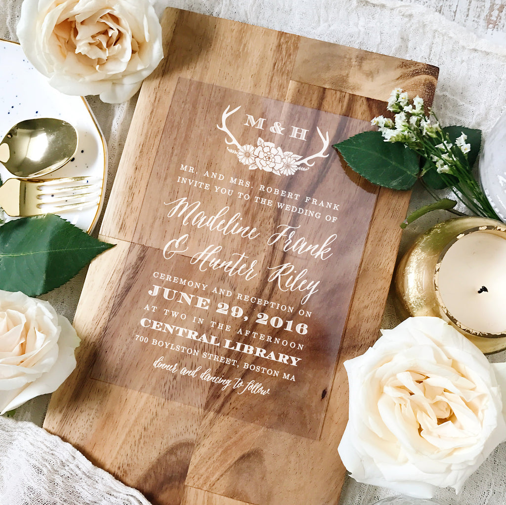 With everything from Clear Invitations to Parisian Themed Bridal Shower Invitations, Basic Invite's got your wedding stationary needs covered!