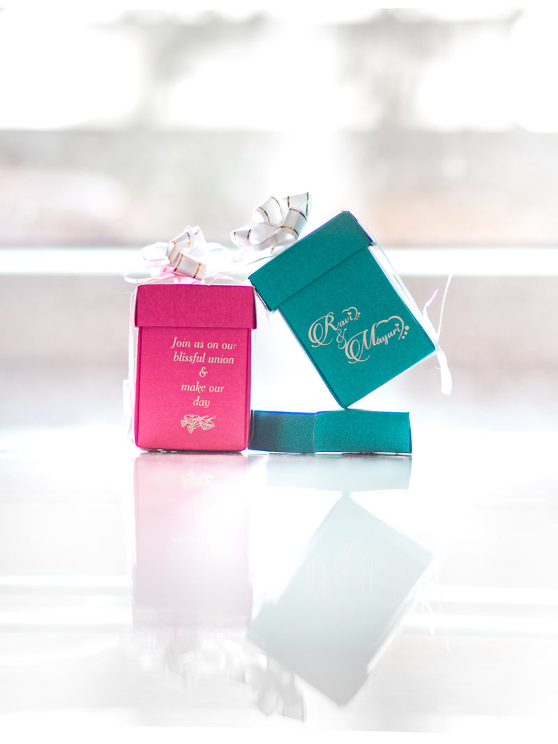 To Give Wedding Favors or Not?