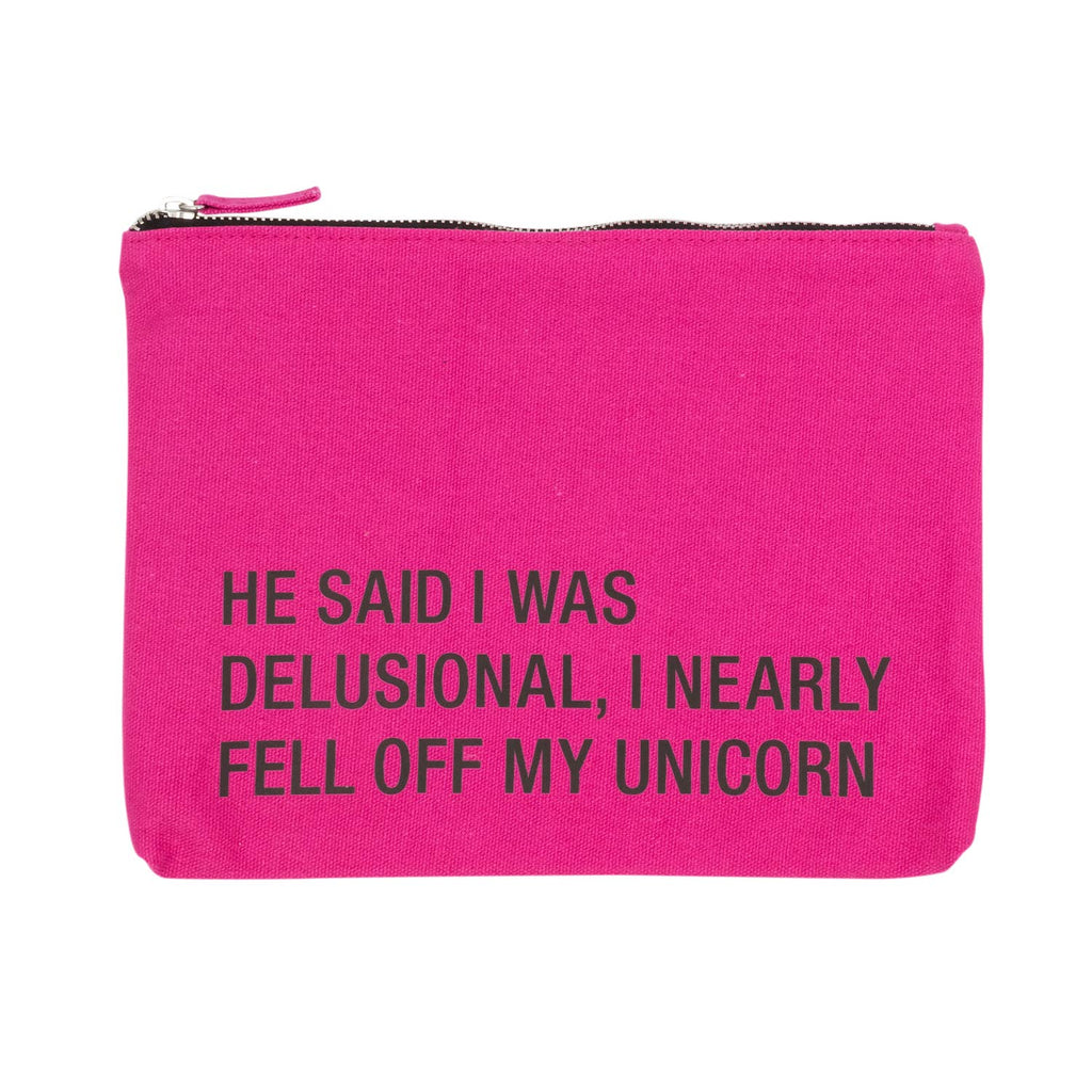 Funny Zipper Pouch - Large