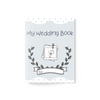 Wedding Activity Book ~ Light Blue - Burlap & Lace