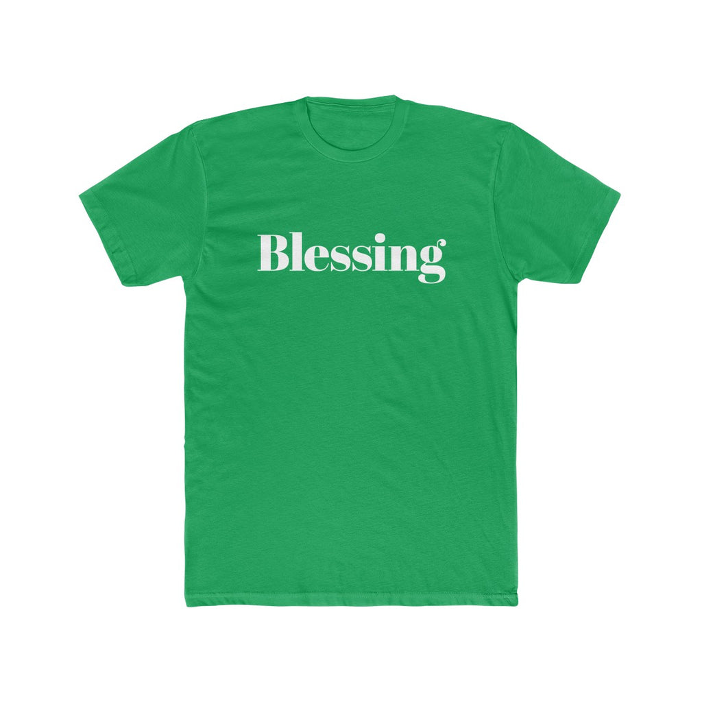 Blessing Men's Christmas Tee - Burlap & Lace