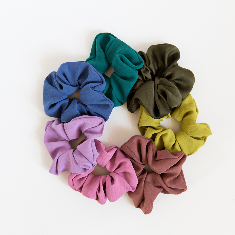 Satin Scrunchies