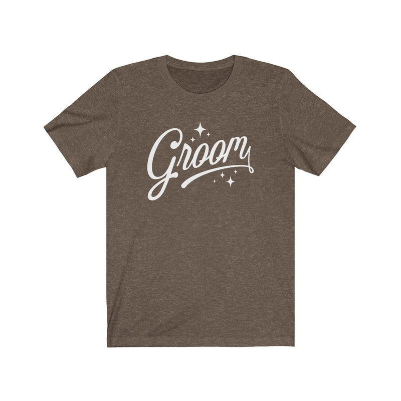 The Groom (Classic Tee) - Burlap & Lace