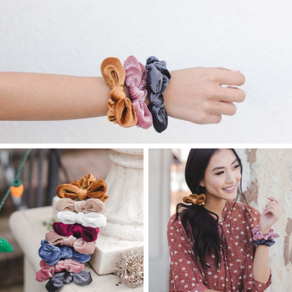 Mini Bow Scrunchies