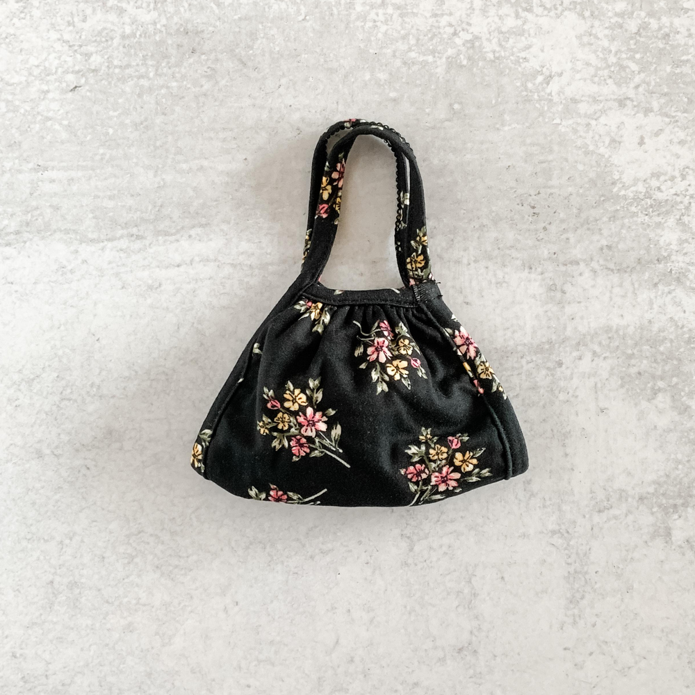 Black Floral Bunches