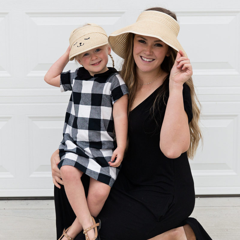 Women's Roll Up Sun Hats