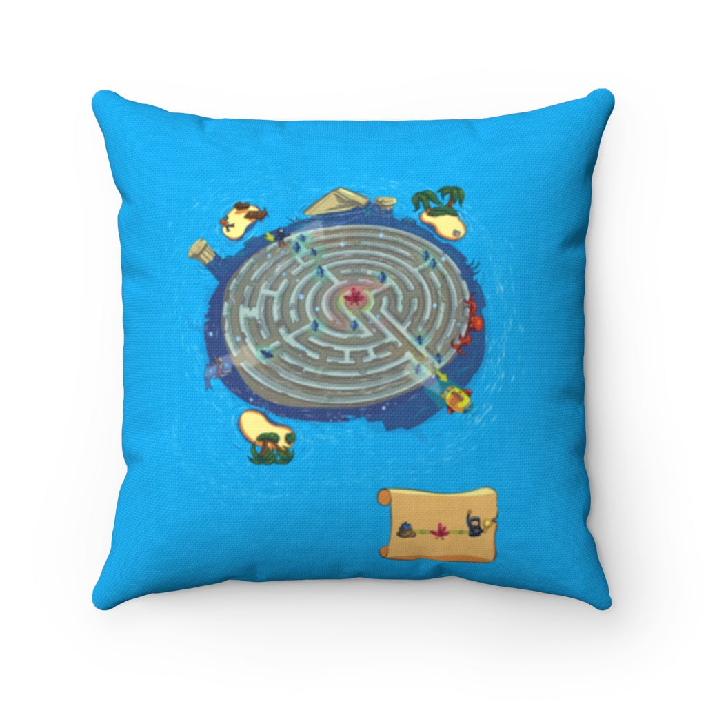 Atlantis Maze Play Pillow